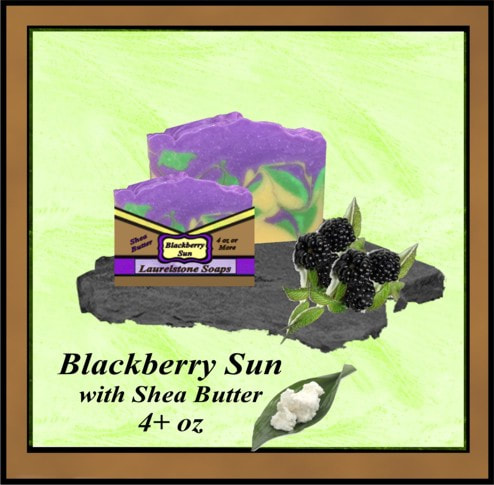 Oregon Blackberry soap with shea butter