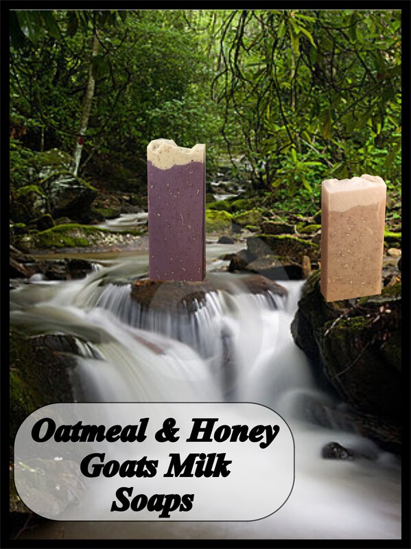 Skin loving Oatmeal and honey soaps