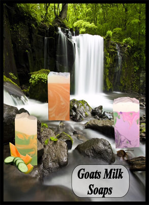 Skin softening moisturizing goats milk soap